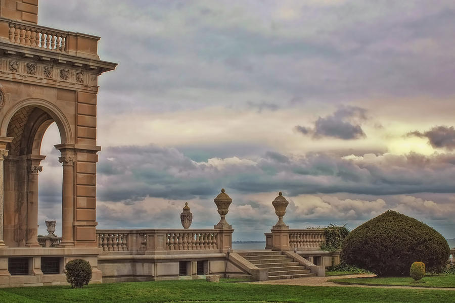 The Breakers Photograph - The Porch by Joann Vitali