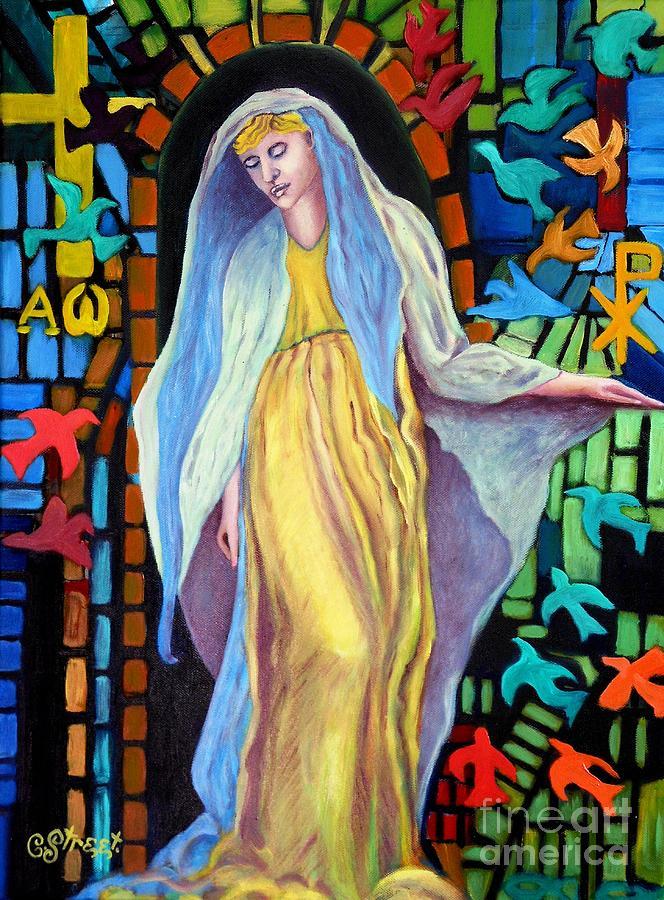 Iconic Art Painting - The Portal by Caroline Street