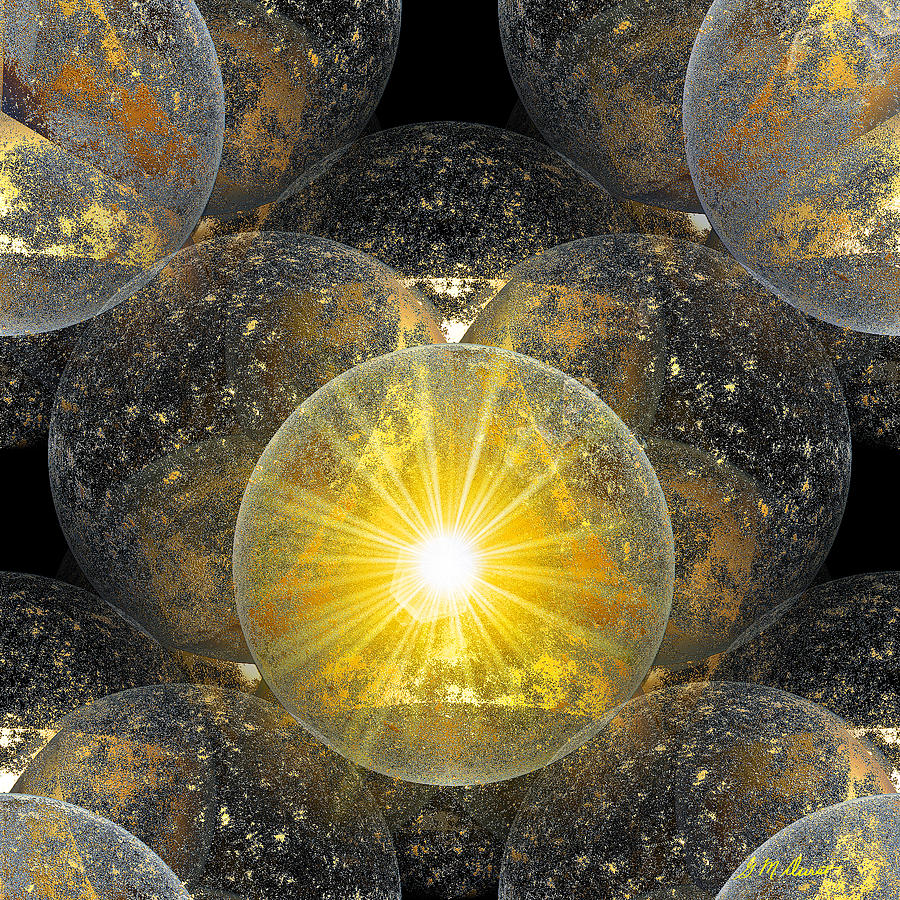 Fractal Digital Art - The Power Of One by Michael Durst