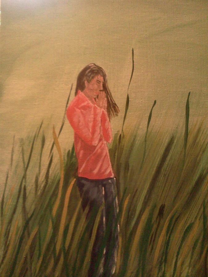 The Prayer Painting by Renee McKnight