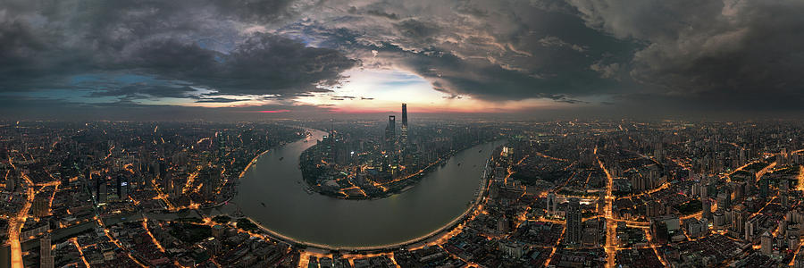Shanghai Photograph - The Prelude by Stan Huang