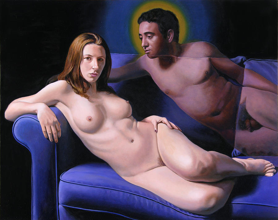 Nude Painting - The Presence by Miguel Tio