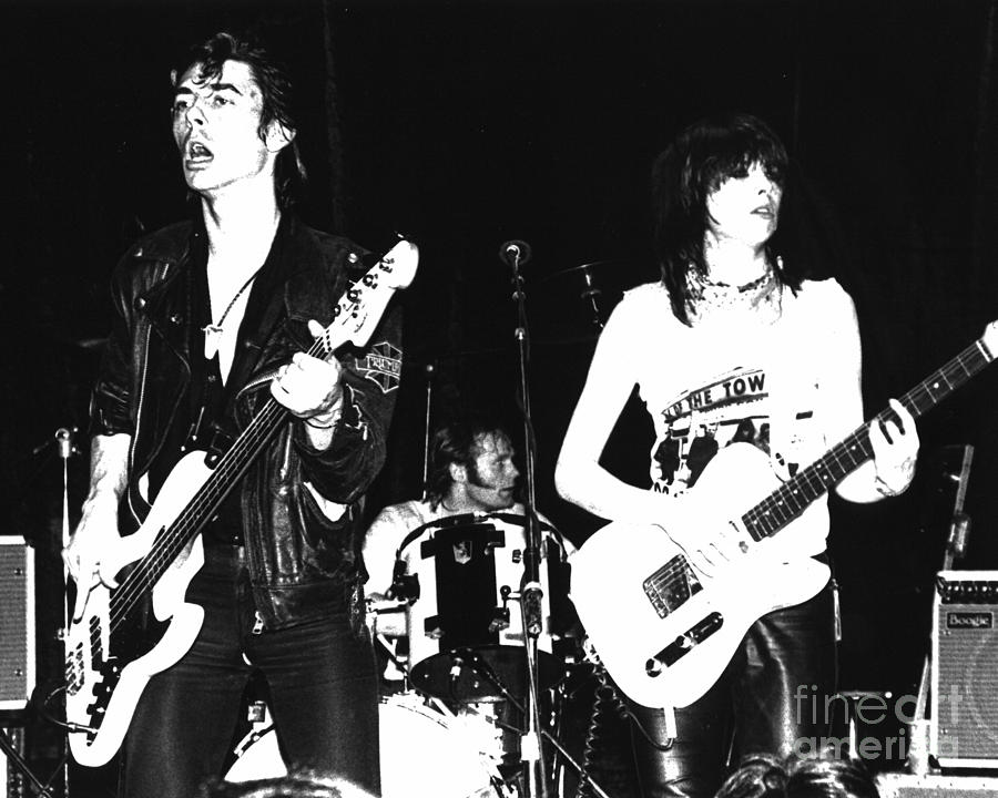 The Pretenders With Pete Farndon Photograph By Joyce Weir