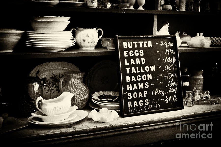 Infrared Photograph - The Price List by Paul W Faust -  Impressions of Light