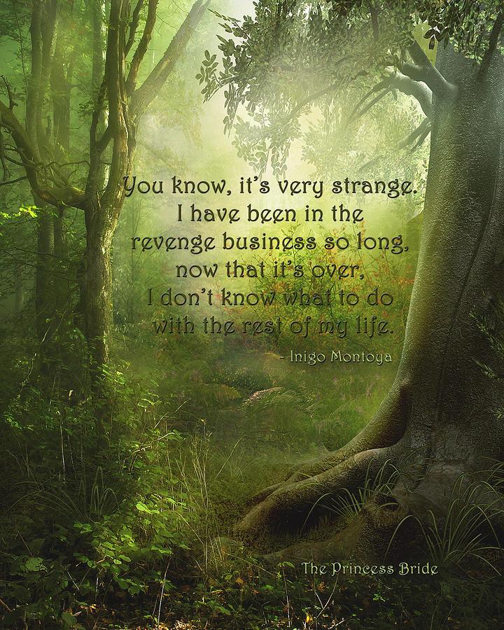 Featured Digital Art - The Princess Bride - Revenge Business by Paulette B Wright