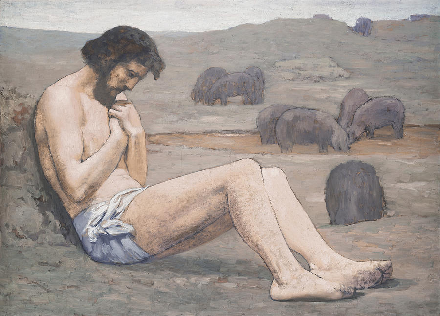 The Prodigal Son Painting by Pierre Puvis de Chavannes