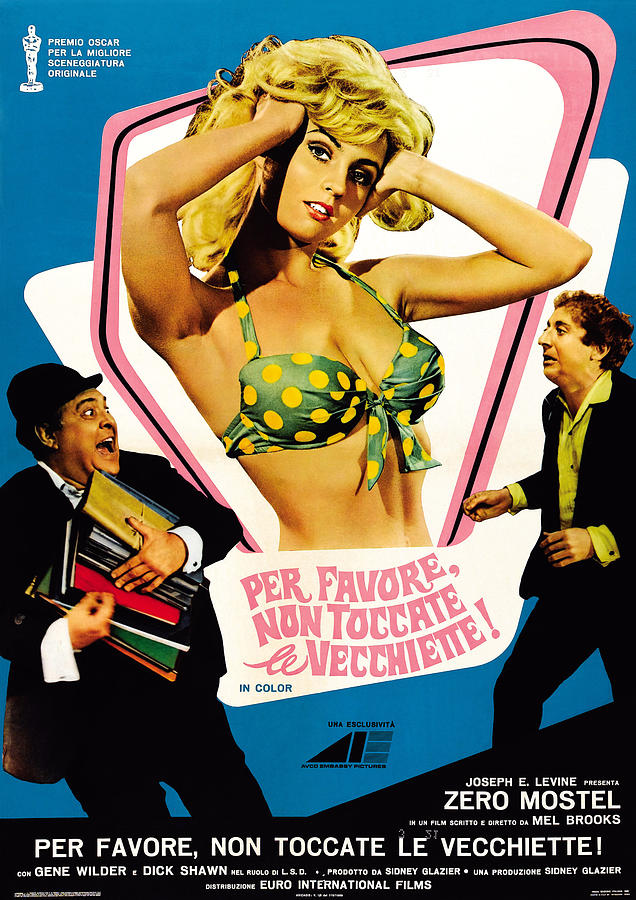 1967 Movies Photograph - The Producers Aka Per Favore, Non by Everett