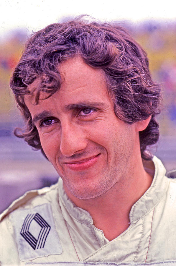 Alain Prost Photograph - The Professor by Mike Flynn