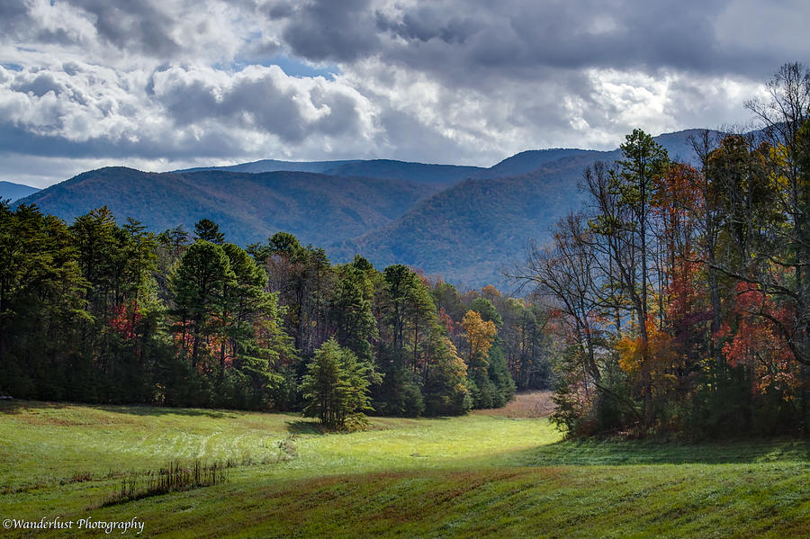 Promised Land Photograph - The Promised Land Cades Cove by Paul Herrmann