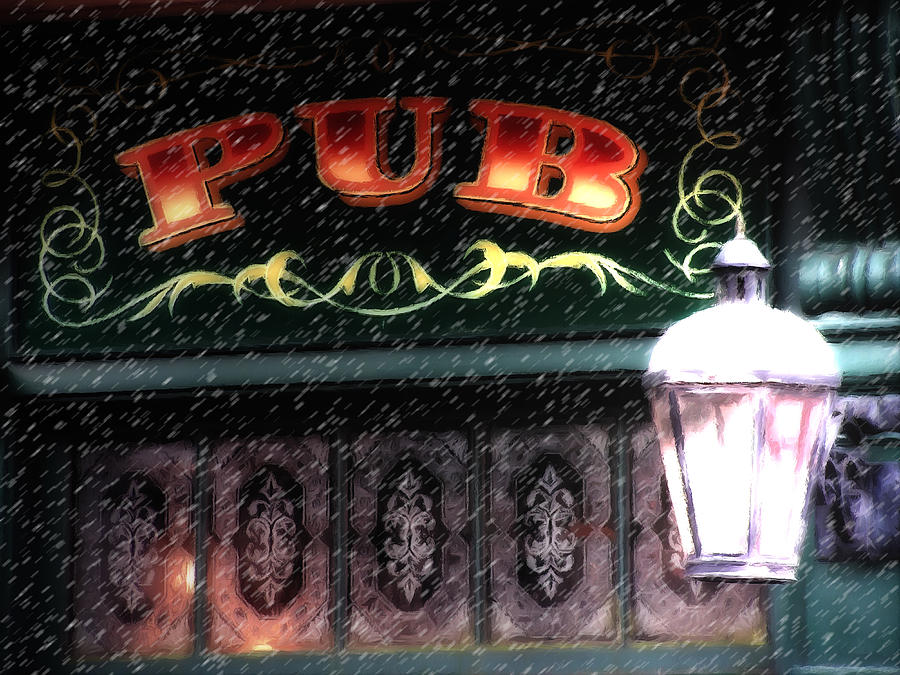 The Pub Painting