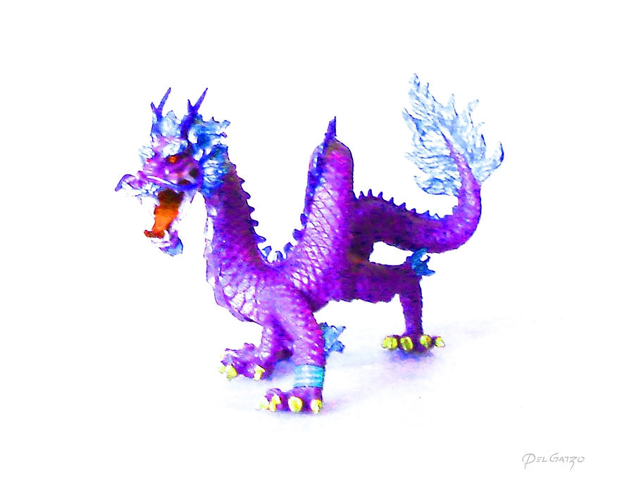 The Purple Dragons Riddle Photograph