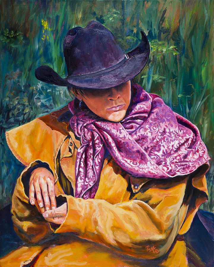 The Purple Scarf by Page Holland