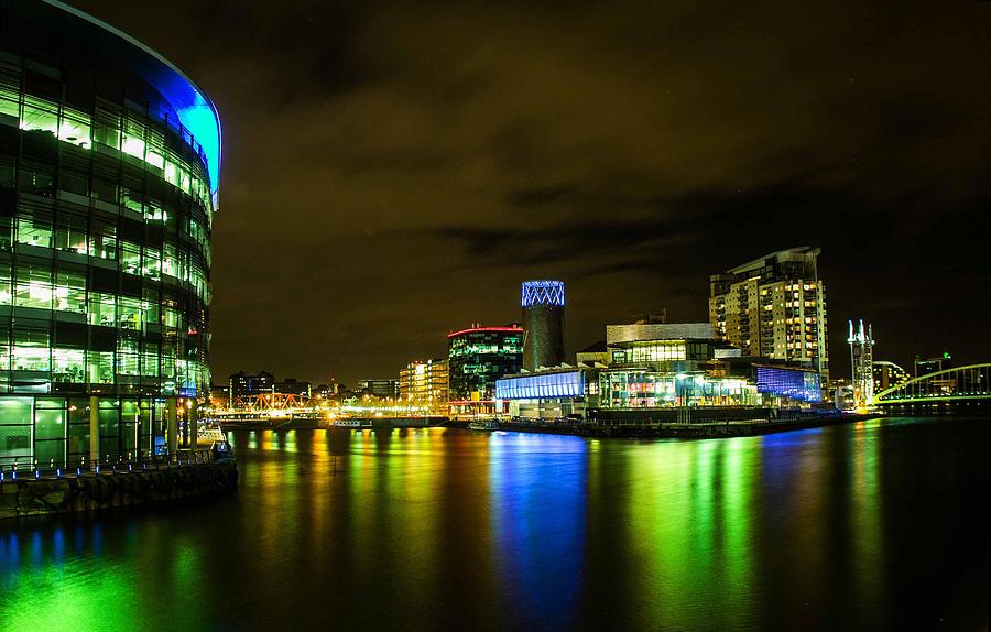 Salford Quays Photograph - The Quays by Brendan Quinn
