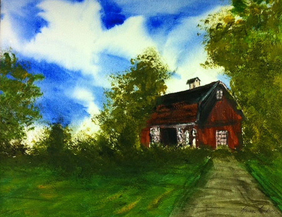 The Quiet Place Painting by Karen  Condron