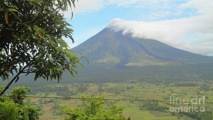 Mayon Volcano Photograph - The Quite Mayon by Manuel Cadag