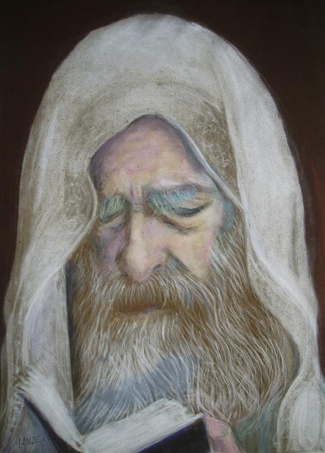 Rabbi Painting - The Rabbi by Maxwell Mandell