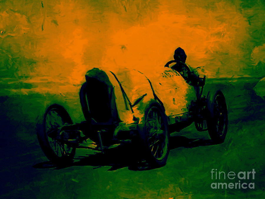 Transportation Photograph - The Racer - 20130207 by Wingsdomain Art and Photography