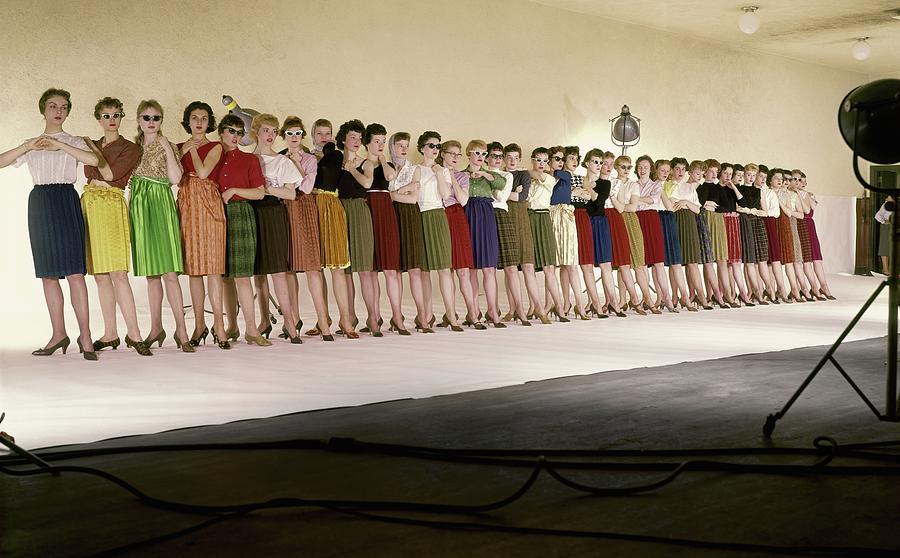 The Radio City Rockettes Photograph by John Rawlings