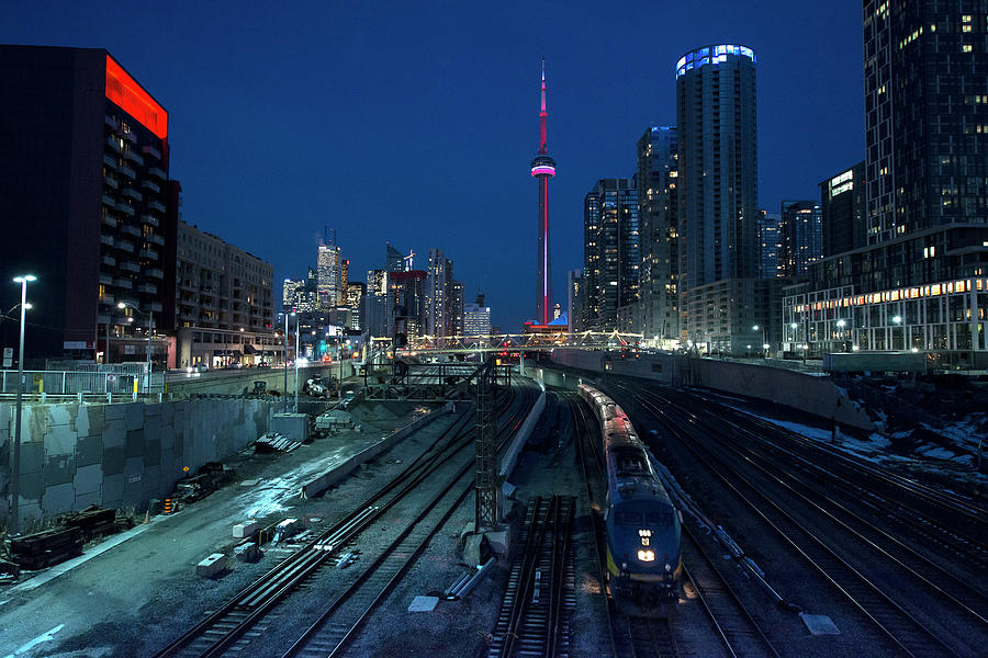 The Railway Lands Toronto Photograph by This Image