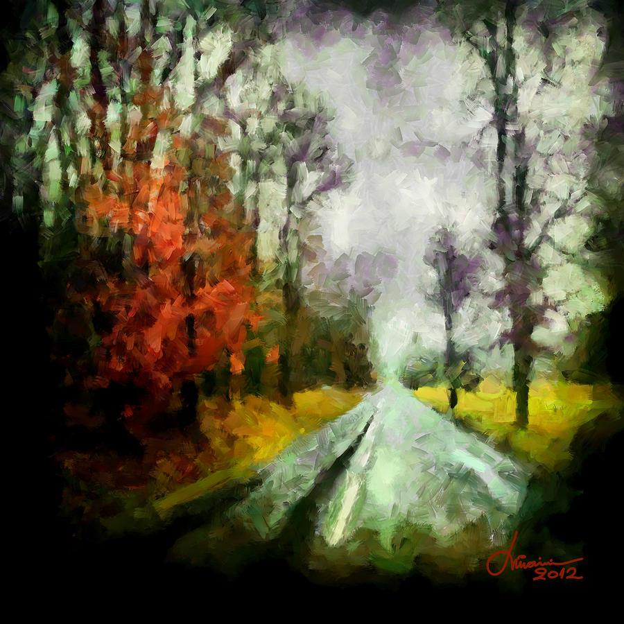 Rain Digital Art - The Rainy Days Of Summer by Vincent DiNovici