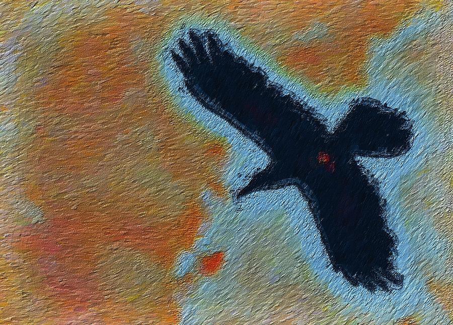 The Raven Roams Photograph