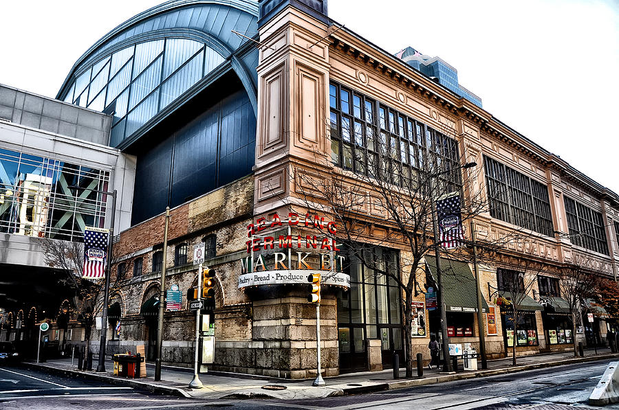 The Reading Terminal Market Photograph - The Reading Terminal Market by Bill Cannon