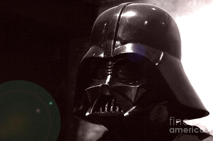 Star Wars Photograph - the Real Darth Vader by Micah May