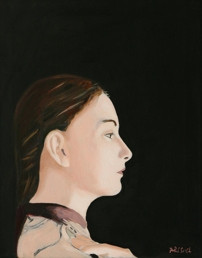 Portrait Painting - The Real One - Depth of Self by Jean-Paul Setlak