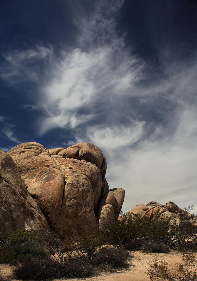 Joshua Tree National Park Photograph - The Reclining Woman by Laurie Search