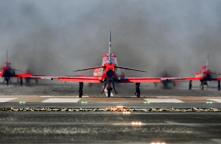 The Red Arrows Photograph by James Lucas