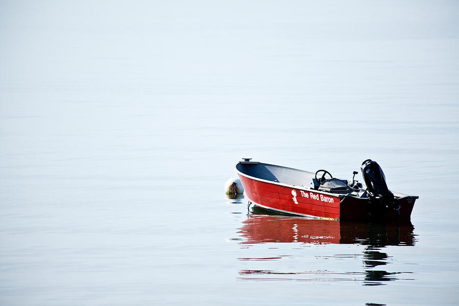 Coastal Photograph - The Red Baron by Karol Livote