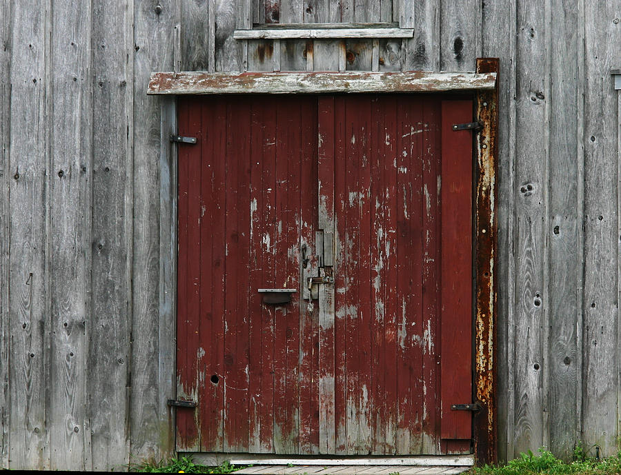 The Red Door Photograph - The Red Door by Denyse Duhaime