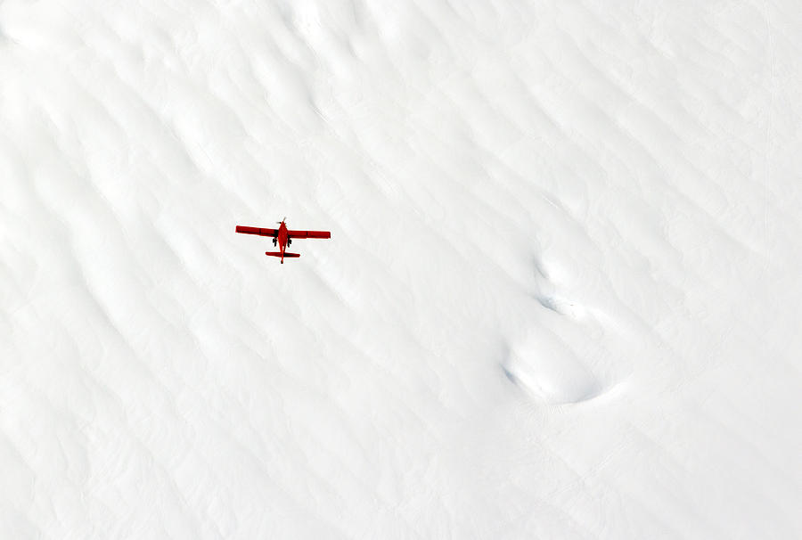The Red Plane Photograph