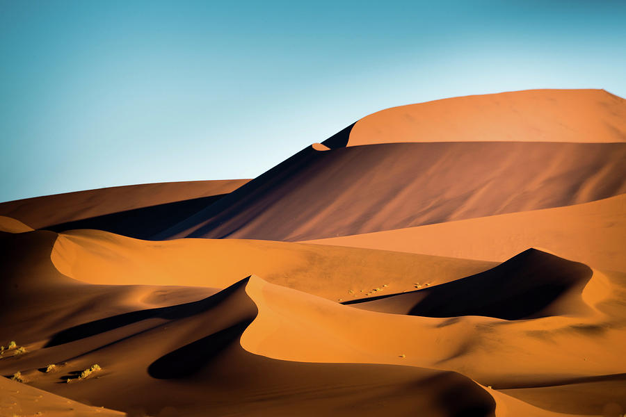 The Red Sand Dunes In Namibia Photograph by José Gieskes Fotografie