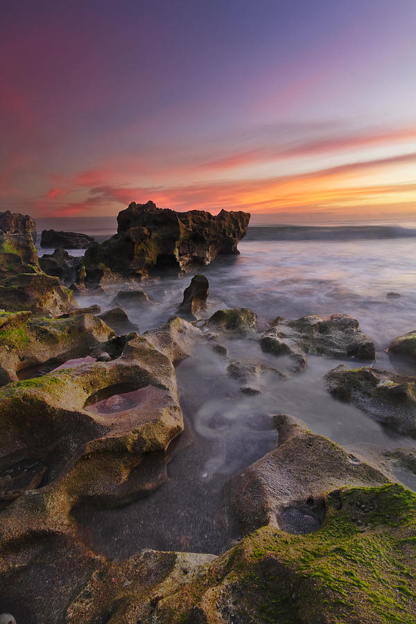 Clouds Photograph - The Reef by Debra and Dave Vanderlaan