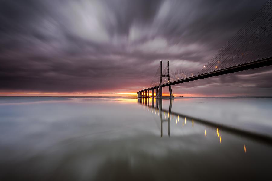 Landscape Photograph - The Reflex by Pedro Carmona Santos