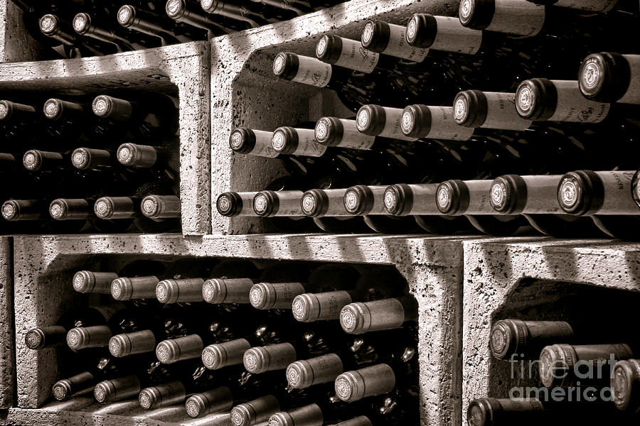 Wine Photograph - The Reserve by Olivier Le Queinec