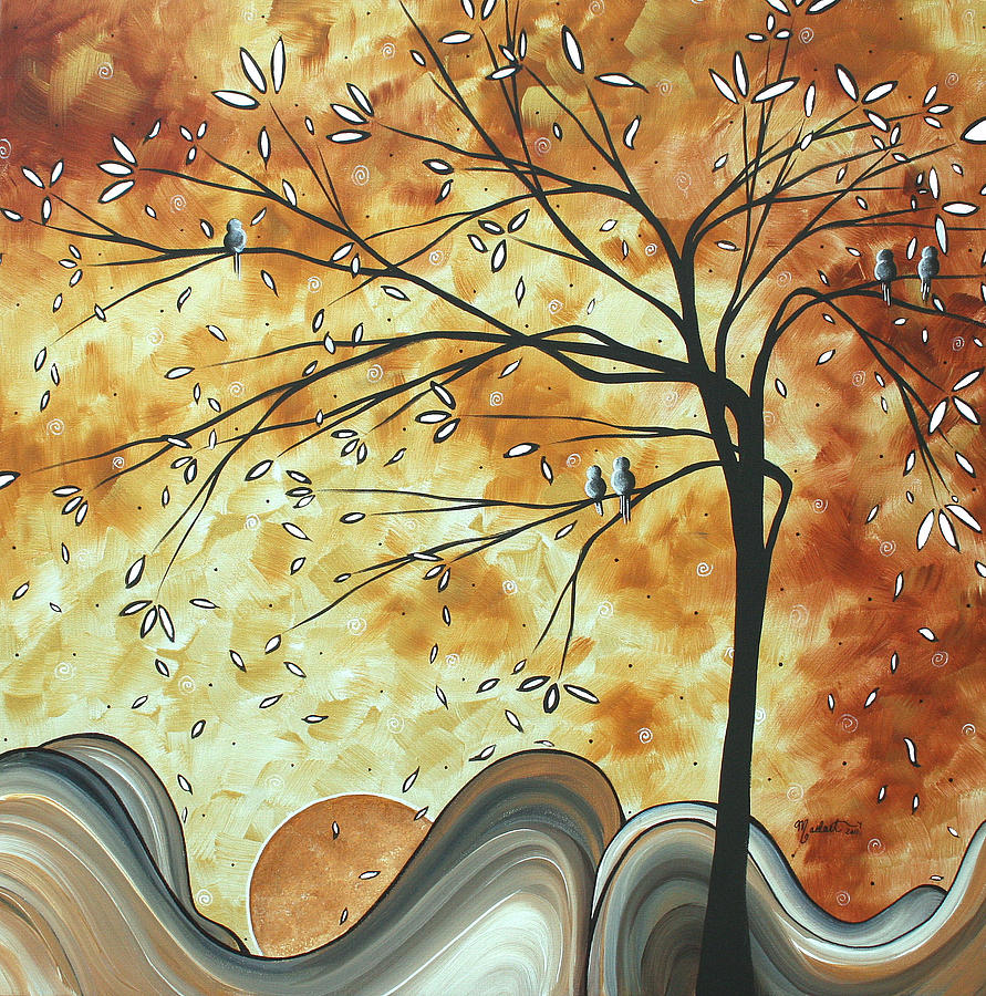 The Resting Place By Madart Painting by Megan Duncanson
