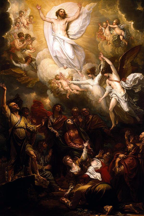 Jesus Painting - The Resurrection by Munir Alawi