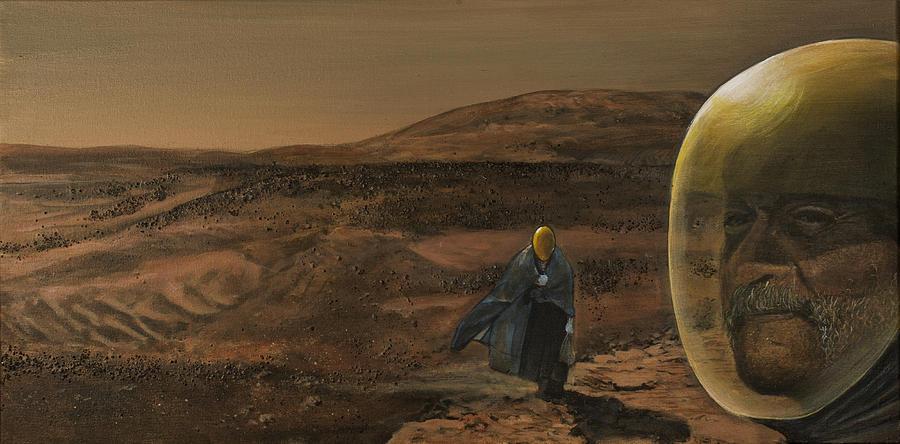 Mars Painting - The Return by Simon Kregar