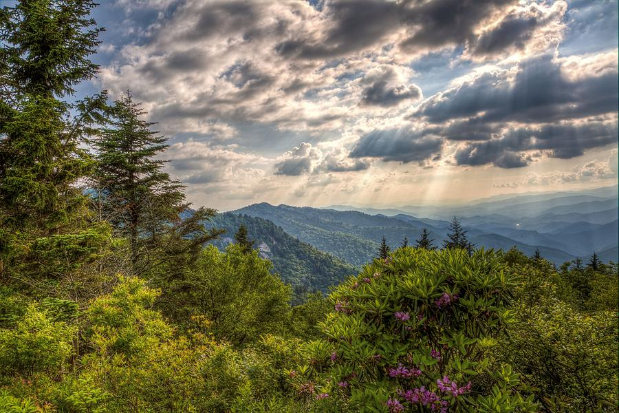 Blueridge Photograph - The Ridge by Johnny Crisp