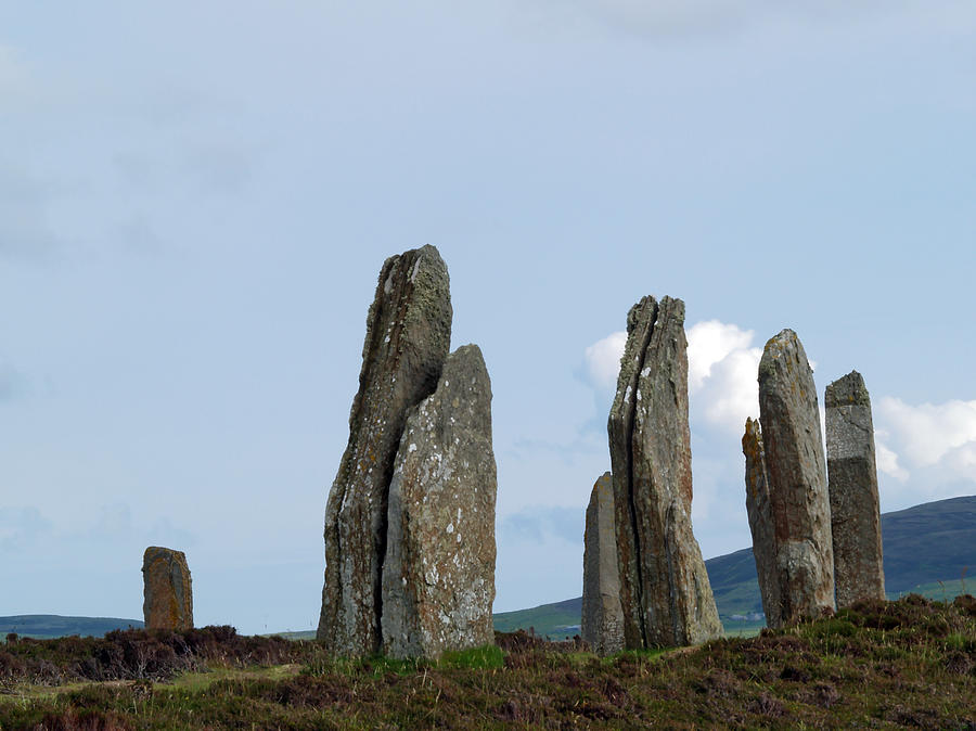 Stones Photograph - The Ring of Brodgar by Steve Watson