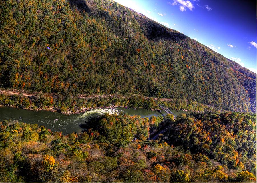 River Photograph - The River Below by Jonny D