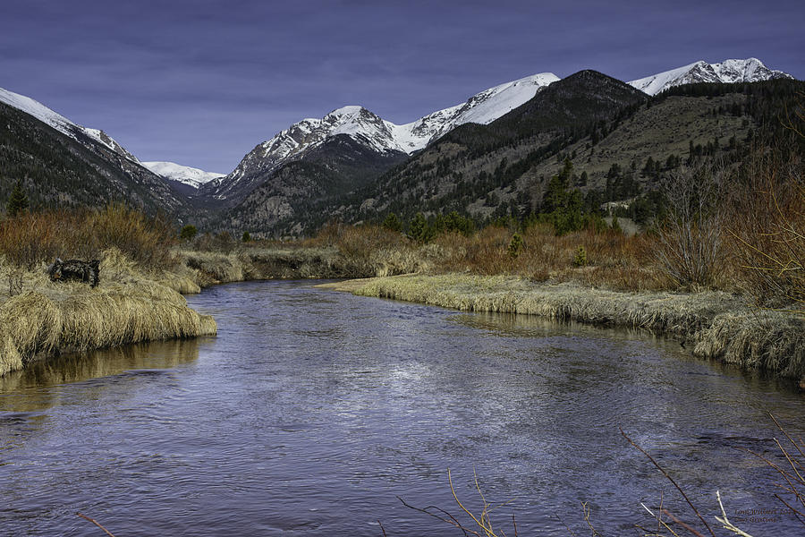 Rockies Photograph - The River Flows by Tom Wilbert