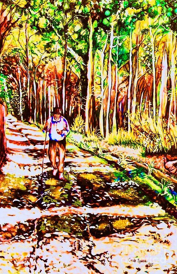 The Road Not Taken Painting By Carole Spandau