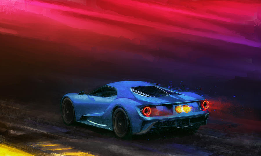 The Road To Le Mans Digital Art