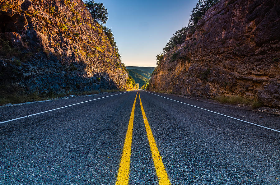 Texas Photograph - The Road To Utopia by Jeffrey W Spencer