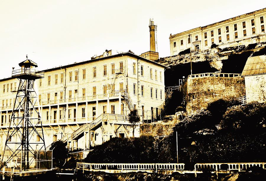 Alcatraz Photograph - The Rock by Benjamin Yeager
