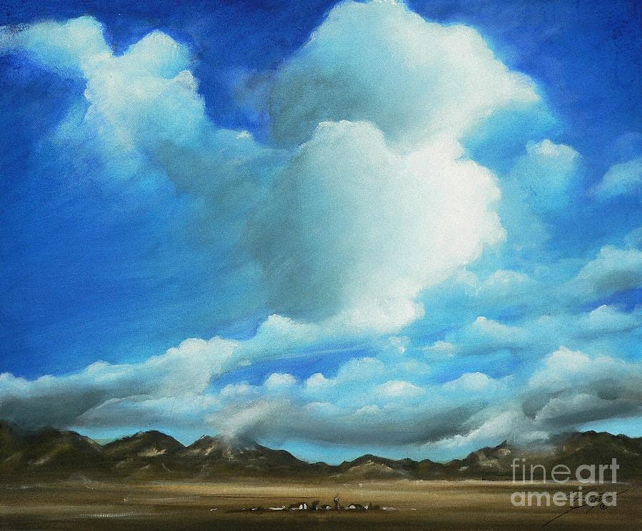 Acrylics Painting - The Rockies by Artist ForYou