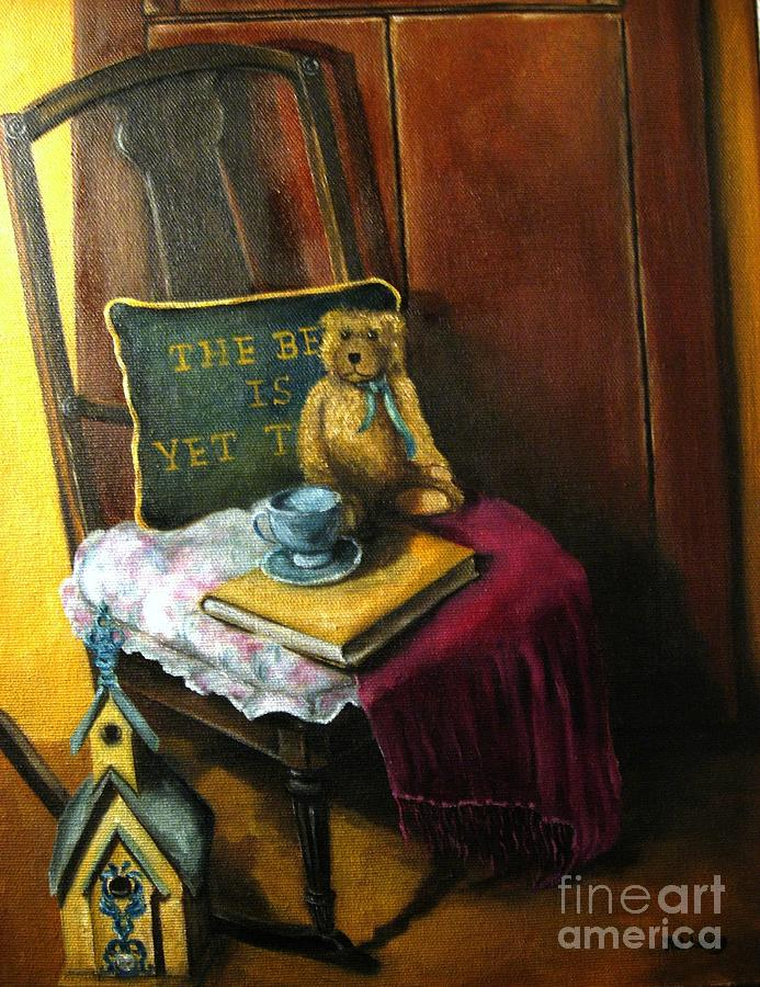Rocking Chair Painting - The Rocking Chair by Patricia Lang